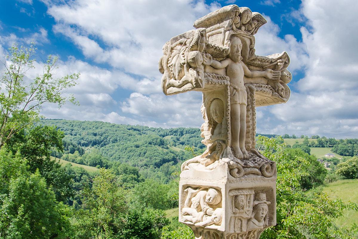 La croix de Saint Austremoine