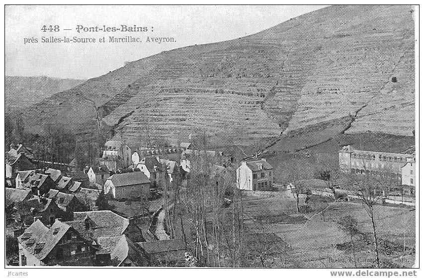 Pont-les-Bains - près de Salles-la-Source et Marcillac en Aveyron