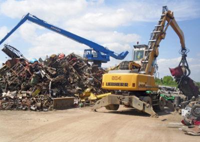 SARL BOUDOU – Récupération de matériau