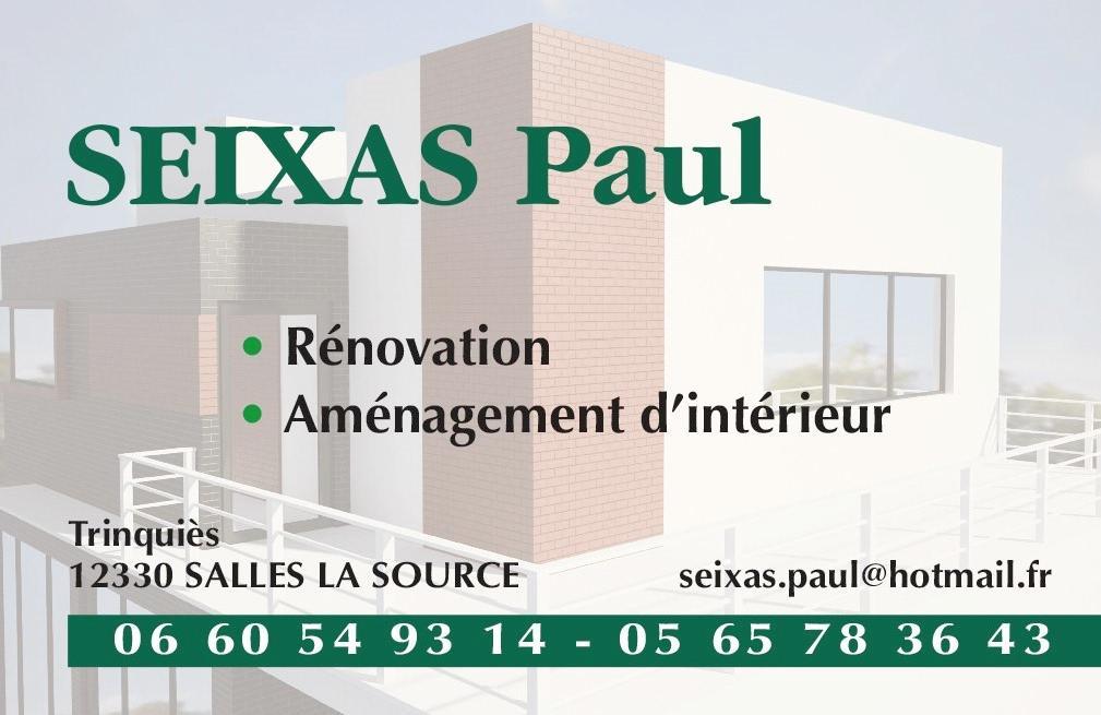 Paul SEIXAS – Installations de salles de bains