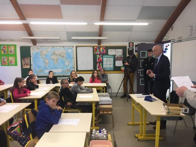 Visite du député - École Souyri