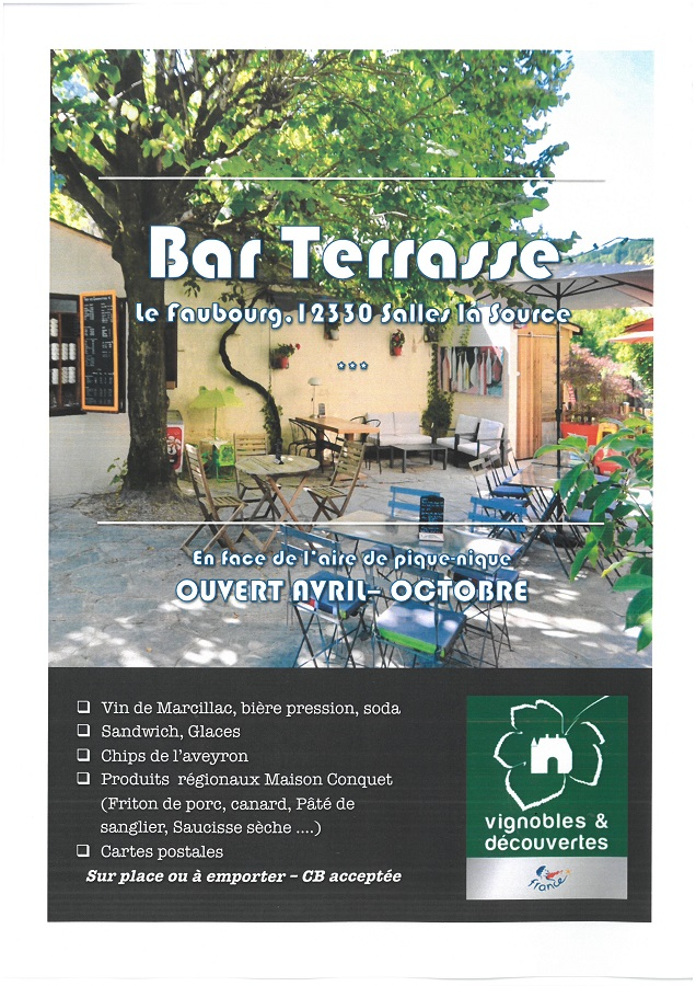 Bar terrasse 2019