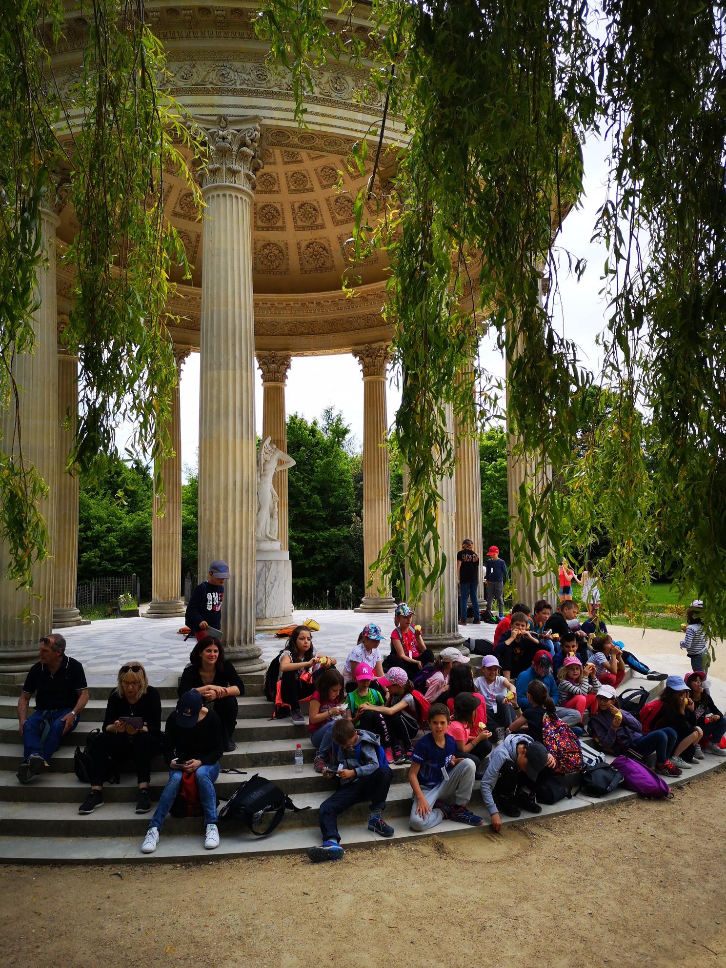 Souvenir du voyage scolaire à PARIS
