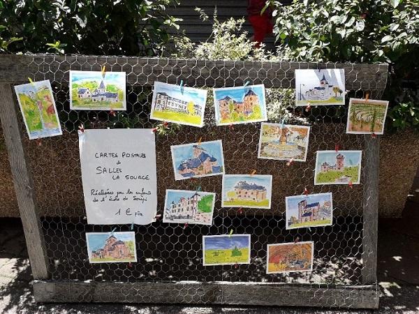 Cartes postales École Souyri